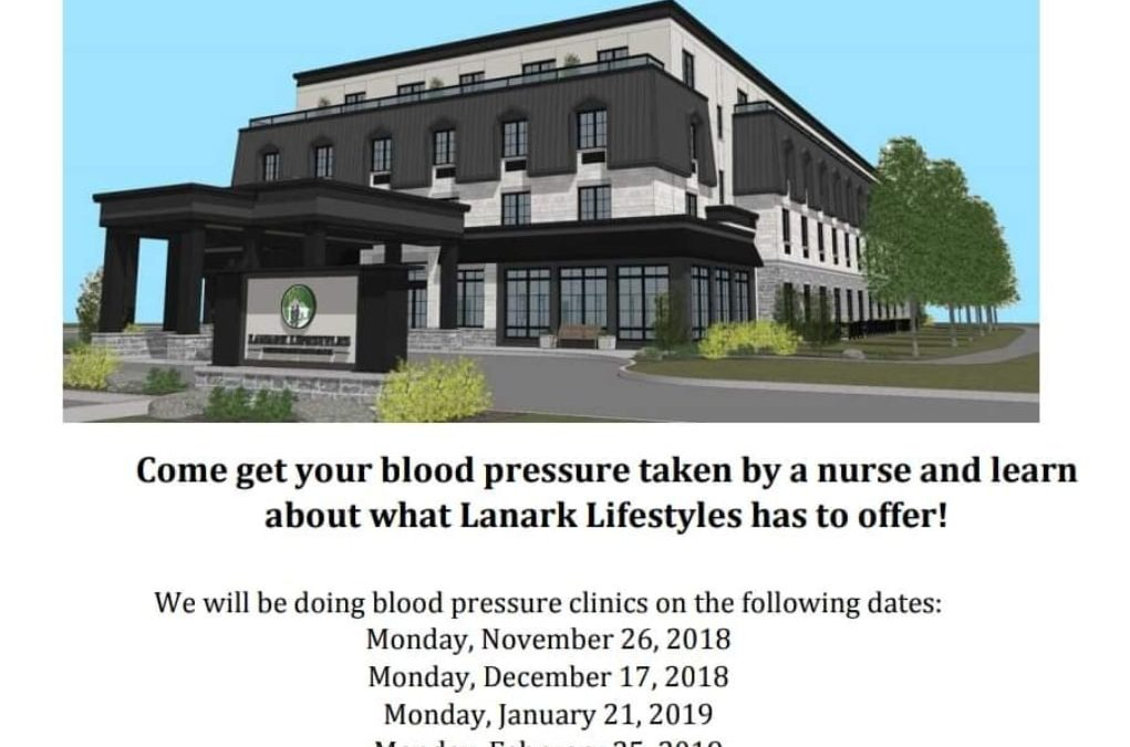 Blood Pressure Clinic Tomorrow!