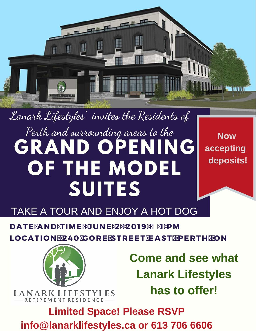 Model Suite Grand Opening